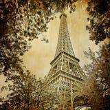 Eiffle Kontrollturm Paris   Stockbild