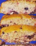 Eigengemaakt Bessenbrood stock foto