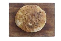 Eigengemaakt brood. Stock Afbeeldingen