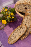 Eigengemaakt brood Royalty-vrije Stock Foto's