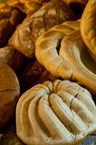 Eigengemaakt brood Stock Afbeeldingen
