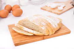 Eigengemaakt brood Royalty-vrije Stock Afbeelding