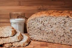 Eigengemaakt brood Royalty-vrije Stock Afbeeldingen