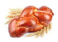 Eigengemaakt brood met tarwe Royalty-vrije Stock Foto
