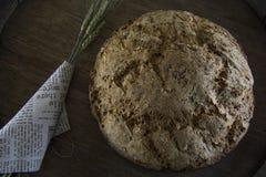 Eigengemaakt brood zonder gluten-vrije gist, bakpoeder Stock Fotografie