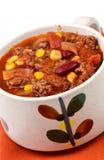 Chili con carne Stock Foto's