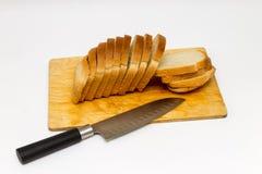 Eigengemaakt diabrood op houten breed Stock Fotografie