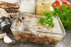 Eigengemaakt geleivlees Royalty-vrije Stock Foto