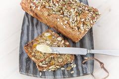Eigengemaakt gespeld brood royalty-vrije stock afbeeldingen