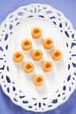Eigengemaakt gezouten karamelsuikergoed Stock Foto