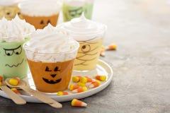Eigengemaakt Halloween behandelt stock afbeelding