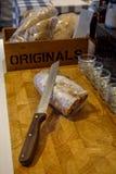 Eigengemaakt Italiaans brood Royalty-vrije Stock Foto's