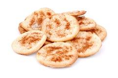 Eigengemaakt koekje met kaneel royalty-vrije stock foto's