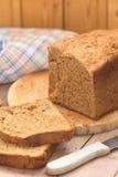 Eigengemaakt roggebrood stock afbeelding