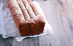 Eigengemaakt roggebrood van brood Stock Fotografie