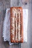 Eigengemaakt roggebrood van brood Royalty-vrije Stock Foto