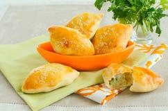 Eigengemaakte aardappelpastei Royalty-vrije Stock Afbeelding