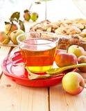Eigengemaakte appeltaart Stock Foto's