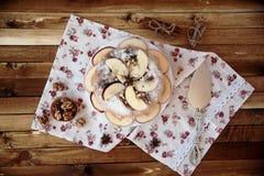 Eigengemaakte appeltaart Royalty-vrije Stock Fotografie