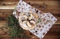 Eigengemaakte appeltaart Royalty-vrije Stock Foto
