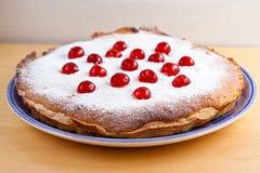 Eigengemaakte bakewellpudding Stock Foto