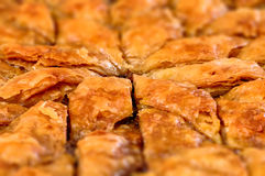 Eigengemaakte baklava - Turks filo zoet gebakje 03 Stock Fotografie