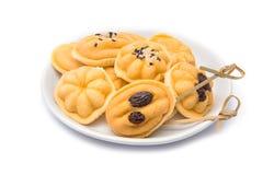 Eigengemaakte botercakes Royalty-vrije Stock Afbeelding