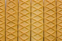 Eigengemaakte boterkoekjes Royalty-vrije Stock Foto's