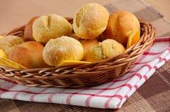 Eigengemaakte broodjes Royalty-vrije Stock Foto