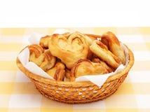 Eigengemaakte broodjes Stock Afbeeldingen