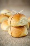 Eigengemaakte broodjes Royalty-vrije Stock Foto's