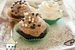 Eigengemaakte cake Stock Foto's