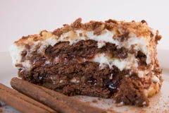 Eigengemaakte cake Stock Afbeeldingen