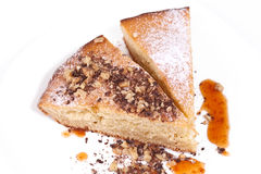 Eigengemaakte cakes Stock Afbeeldingen