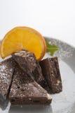 Eigengemaakte chocolade royalty-vrije stock foto's