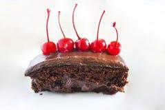 Eigengemaakte chocoladecake Royalty-vrije Stock Foto
