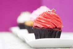 Eigengemaakte Cupcake Stock Afbeelding