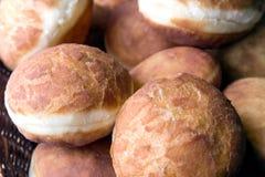 Eigengemaakte donuts Stock Foto's