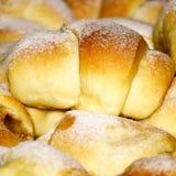 Eigengemaakte gebakken broodjes Royalty-vrije Stock Foto