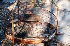 Eigengemaakte grill stock foto's