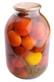 Eigengemaakte groenten in het zuur Royalty-vrije Stock Afbeeldingen