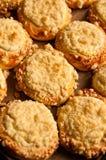 Eigengemaakte kaasbroodjes Royalty-vrije Stock Foto