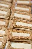 Eigengemaakte koekjes Stock Afbeeldingen