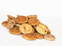 Eigengemaakte koekjes Stock Foto's
