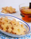 Eigengemaakte koekjes met gember Stock Fotografie