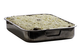 Eigengemaakte Lasagna's Stock Afbeelding