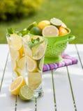 Eigengemaakte limonade stock afbeelding