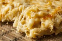Eigengemaakte Macaroni en Kaas Stock Afbeeldingen