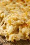 Eigengemaakte Macaroni en Kaas Royalty-vrije Stock Afbeeldingen