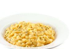 Eigengemaakte Macaroni en Kaas Royalty-vrije Stock Afbeelding